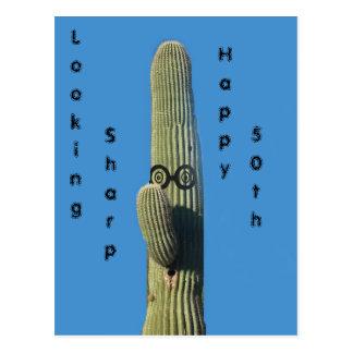 Funny birthday wishes postcard