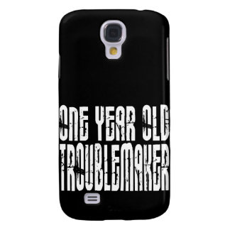 Funny Birthdays : One Year Old Troublemaker Samsung S4 Case