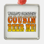 Funny Birthdays Parties Worlds Greatest Cousin Ornaments