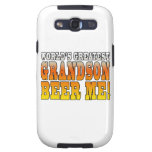 Funny Birthdays Parties Worlds Greatest Grandson Galaxy S3 Cases