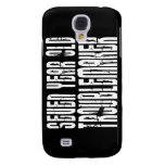 Funny Birthdays : Seven Year Old Troublemaker Samsung Galaxy S4 Covers