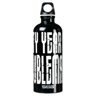 Funny Birthdays : Sixty Year Old Troublemaker SIGG Traveler 0.6L Water Bottle