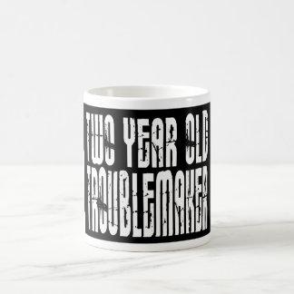 Funny Birthdays : Two Year Old Troublemaker Coffee Mug