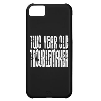 Funny Birthdays : Two Year Old Troublemaker Cover For iPhone 5C