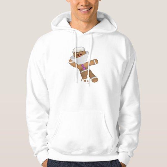 Funny Bit Himself Gingerbread Man Hoodie