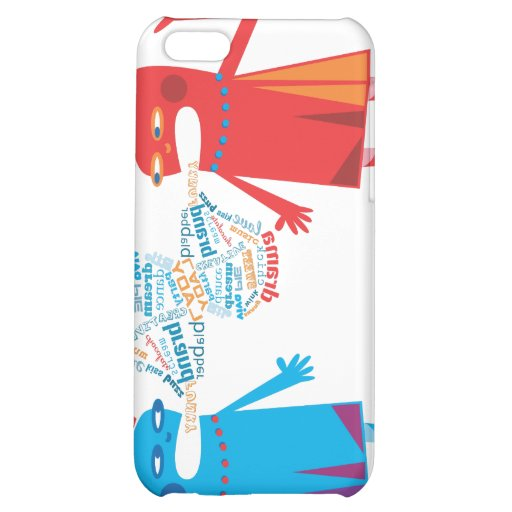 Funny Blabber Cartoon Characters iPhone Speck Case iPhone 5C Case