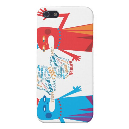 Funny Blabber Cartoon Characters iPhone Speck Case Case For iPhone 5