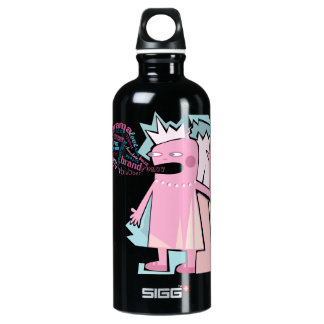 Funny Blabber Pink Character Liberty Bottle