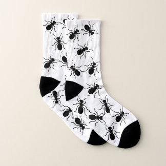 Funny Black Ant Swarm Novelty Gardener Socks