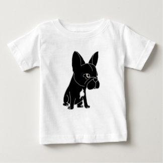 Funny Black French Bulldog Puppy Dog Tee Shirt