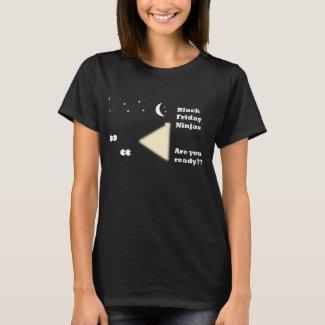 Funny Black Friday Ninja T-shirt