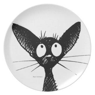 Funny Black Gothic Oriental Cat