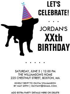 funny birthday invitations zazzle