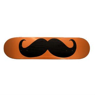 Funny black mustache 11 skateboard