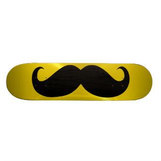 Funny black mustache 14 skateboard