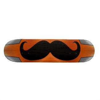 Funny black mustache 2 skateboard