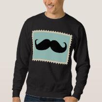 Funny Black Mustache 2 Sweatshirt