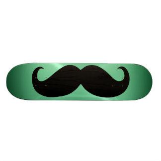Funny black mustache 3 skateboard deck