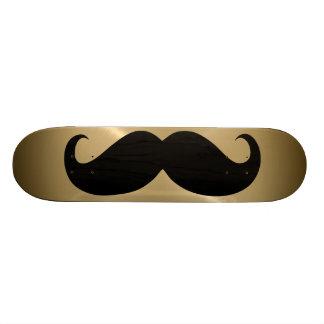 Funny black mustache 4 skateboard