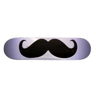 Funny black mustache 5 skateboard