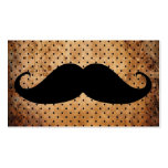 Funny Black Mustache Double-Sided Standard Business Cards (Pack Of 100)