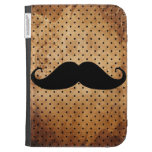 Funny Black Mustache Kindle Keyboard Cases