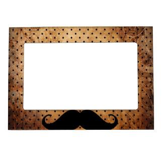 Funny Black Mustache Magnetic Frame