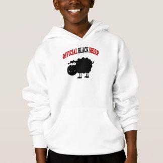 Funny black sheep hoodie