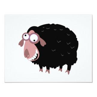 Funny Black Sheep Invites