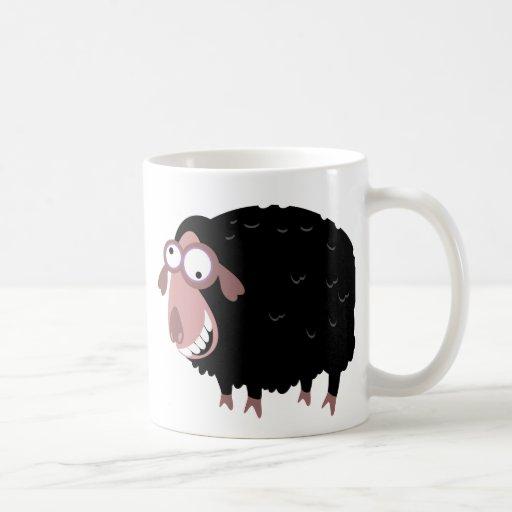 Funny Black Sheep Mugs