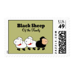 Funny Black Sheep of the Family Stamp