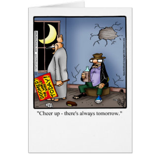 """Funny Blank Greeting Card """"Spectickles"""""""