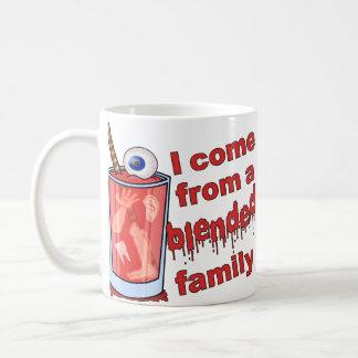 Funny Blended Family Pun Coffee Mug