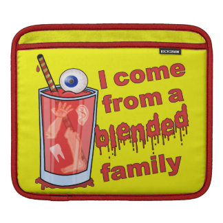 Funny Blended Family Pun iPad Sleeve