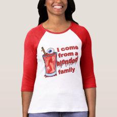 Funny Blended Family Pun T-shirt
