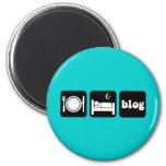 Funny blogger magnets