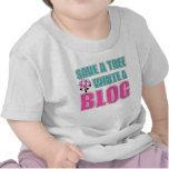 Funny Blogger Tee Shirt