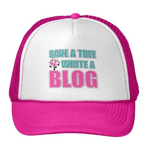 Funny Blogger Trucker Hat