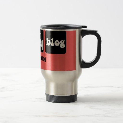 Funny blogging 15 oz stainless steel travel mug