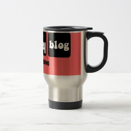 Funny blogging travel mug