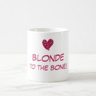 Funny Blonde Quote Coffee Mug
