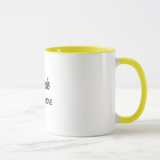 Funny Blonde to the Bone Quote Mug