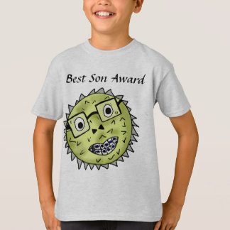 Funny blow fish best son award T-Shirt