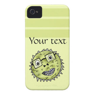 Funny blow fish iPhone 4 covers
