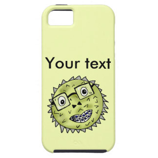 Funny blow fish iPhone 5 cover