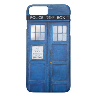 Funny  Blue Phone Booth Call Box iPhone 8 Plus/7 Plus Case