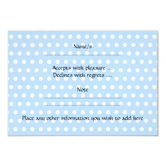Funny Blue Rabbit Cartoon. 3.5x5 Paper Invitation Card