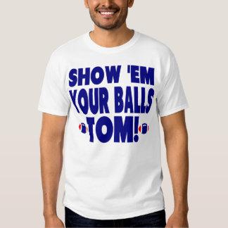 Funny Blue - Show Them Your Balls Tom Dresses