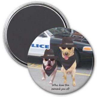 Funny Blues Dogs Fridge Magnet