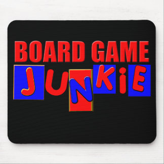 Funny Board Gamer Mouse Pad